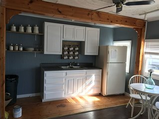 Renovated cottage, great for a couple or small family.