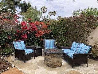 **BOOK ME STAY HERE - ORIGINAL BEACH COTTAGE  BEAUTIFUL YARD AND HOME**