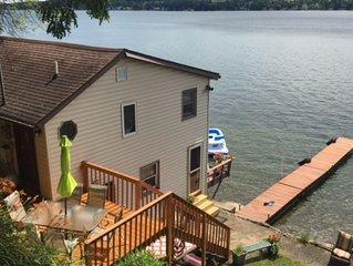 Keuka Lake Waterfront Getaway - Finger Lakes/Wine County