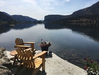 Heart Of Wine Country - Peaceful Vaseux Lakeside Living