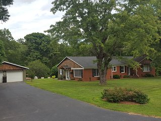 Centrally located at Lake James. Close to Lake James State Park (Paddy's