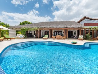 CARIBBEAN HEAVEN W/ AWESOME OCEAN & RIVER VIEW, CHEF, BUTLER, MAIDS & GOLF CARTS