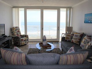 Fall Get-Away! Incredible DIRECT Oceanfront Condo on No Drive Beach-Nov SPECIAL
