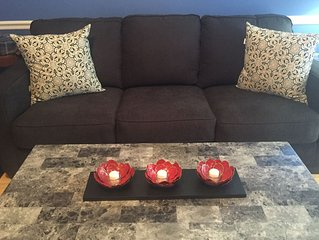 Zen like appeal !Soothing features and amenities . Great for holiday events !