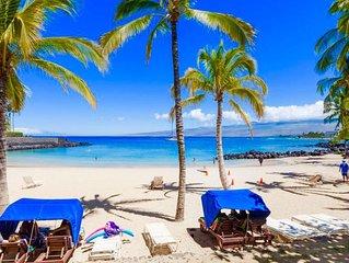 Mauna Lani 3 BR Luxury T-Home, walk to Fairmont beach! Rare Gem! Golf, Shop, Spa