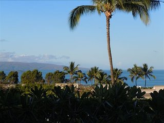 NEWLY REMODELED! Beautiful & Spacious- Two Story Wailea Ocean View 2BR/2.5BA