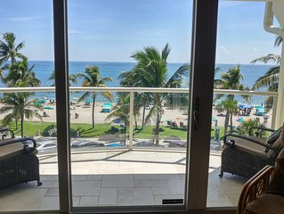 BEACH FRONT HAVEN – Ocean View Condo, Deerfield Beach the best of South Florida
