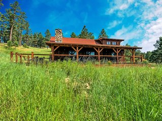 Beautiful Custom Timber Frame Cabin in Beautiful Spring Creek Canyon!