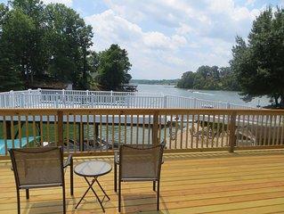 Enjoy A Lakefront Vacation On A Quiet Cove At Claytor Lake Near Radford, VA.