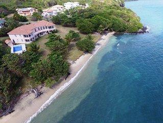 Spectacular Villa in Beachfront Setting