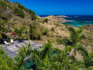COCO ROCK VILLA ST BARTS (official) // OCEAN VIEW & INFINITY POOL