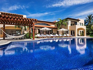 6 Bedroom Villa - Enjoy Golf, Tennis, Beach & Whitewater Ocean Views
