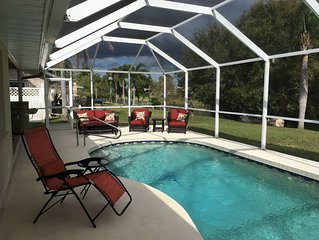 Luxurious 3 Bed 2 Bath Waterfront Pool Home