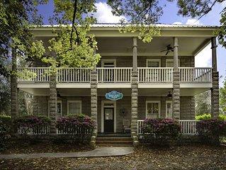 Historic 5 Bedroom Home, Walk To Cumberland Island Ferry