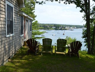 Quiet, Rest, & Relaxation on Historic Pemaquid Harbor