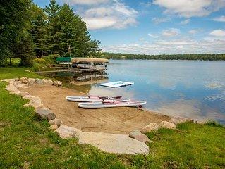 Spacious Cabin on Kimble Lake, Pontoon Available