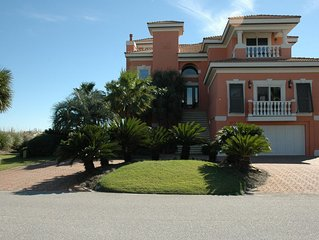Beach Front Home on 150 feet of Sugar White Sand with Dune walk