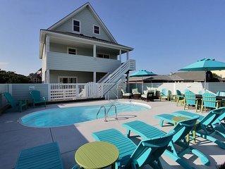 5 Master Bedrooms, Ocean Views & Private POOL