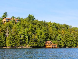 Muskoka's Premier Luxury Cottage And Boathouse