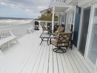 COMPLETELY RENOVATED OCEANFRONT HOME, SLEEPS 8