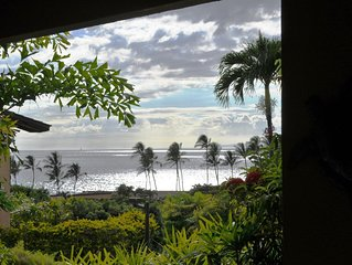 Wailea Ekahi 1B Recently Remodeled Ocean View 1st Floor Luxury 1BD 2BA Condo
