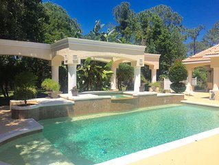 5 Bedroom / 4 Full Bath Executive Home with Swimming Pool.