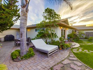 1 week just opened up in Dec! Gorgeous, Clean,Backyard sanctuary, pet friendly!!