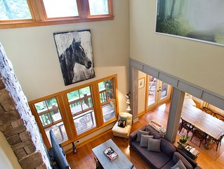 Mountain Lodge At Bear Lake Reserve With Modern Comfort And Resort Amenities