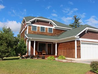 NEW Waterfront home -  In Town, walk to shopping and Olympic Center - BEAUTIFUL!