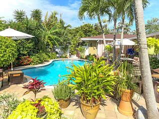 33 FIVE STAR RATINGS -- Upscale, Private Wilton Manors/Ft. Lauderdale Cottage