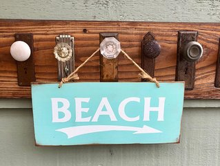 Beach life at Sea Horse Cottage, Crescent Beach, near White Rock