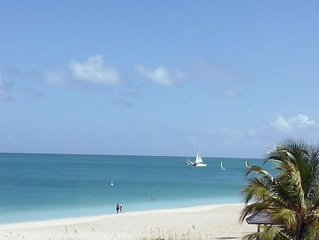 Beachfront 1BR Condo - Top Floor at Royal West Indies
