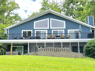 Smith Mountain Lake Waterfront w/ Hot Tub/Kayaks/Paddle Boards;Enhanced Cleaning