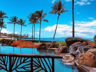 The Maui Escape - Spectacular 2.5 Bdr Penthouse -Oceanfront Resort-Owner Direct!