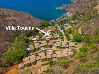 Exquisite Location! Ocean Views, Secluded Beach, Cove & Pools!