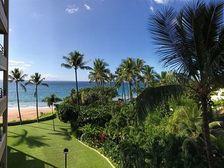 Luxury Beachfront Newly Remodeled 2BR 2BA Polo Beach Wailea Kihei 5 Star