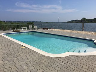Home w/ Heated Pool & Boat Dock - Expansive Water View Family Friendly Renovated