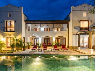 Luxurious 7,000 Sq Ft Mansion, Steps From Private Beach!
