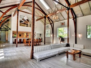 The Playhouse: 7,000 Square Feet of Berkshires Modern Luxury and History