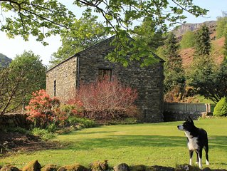 Cottages For Two, in Converted Barn. Close to Keswick, Stunning Views Helvelyn