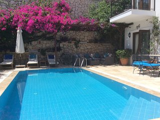 Luxury Villa, With Private Pool, Beautiful Gardens Along With Stunning Sea And M