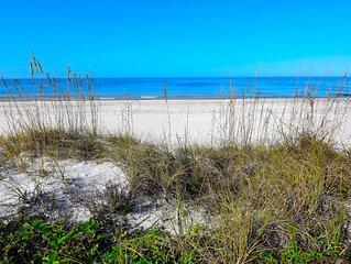 Beachfront Condo With Panoramic Views of the Gulf Plus Beach Gear, Grill & Wifi