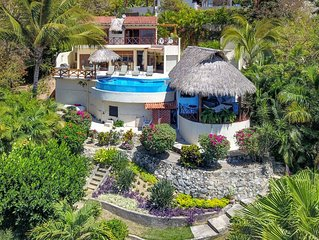 4BR, 5BA,  Sunset Ocean Views, Heated infinity Pool, Great Wi-Fi, Private Villa