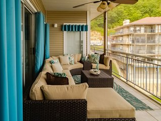 Beautiful, Large Waterfront Condo, Main Channel View, Boat Slip, and 4Bed 4Bath