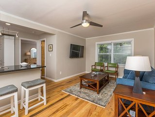 Beautiful apartment steps from Baptist Hospital in Central Winston-Salem