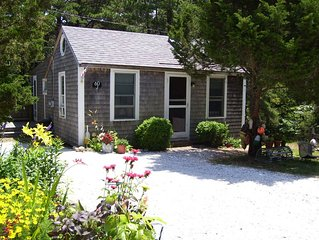 Wellfleet Cottage, Central Heat/AC, Enclosed Porch, Wooded View near Duck Pond