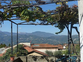 17th Centuray Tuscan House in  medievil town with spectacular views