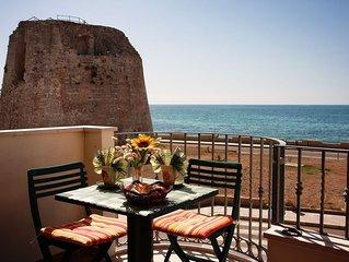 Bellissimo appartamento con stupenda vista mare a 50m dalla spiaggia