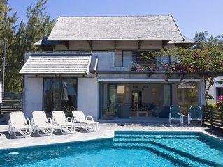 Peters Beach House avec piscine sur la plage, Poste Lafayette, wifi gratuit