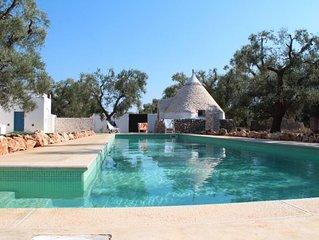 Villa con piscina - Amazing trullo